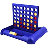 TANCH 4-IN-A-ROW Board Games Foldable Line up 4 Toys for Kids Blue