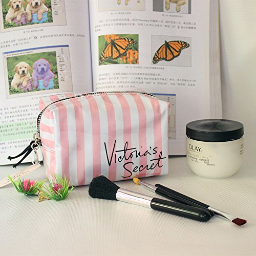 Victoria's Secret striped box Cosmetic Storage bag small square package](J Force Paintball)