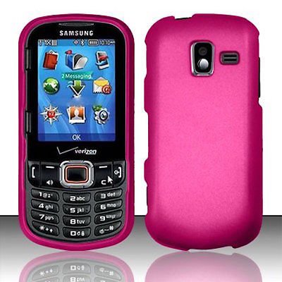 - For Samsung Intensity 3 U485 Rubberized Hard Snap on Protector Cover Case Skin - Hot Pink