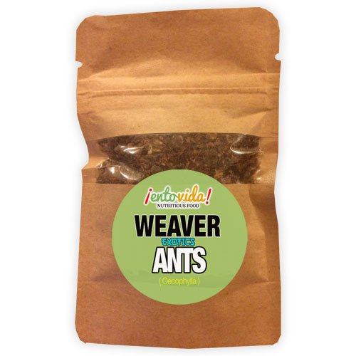 Edible Weaver Ants (10 Gram Sample)