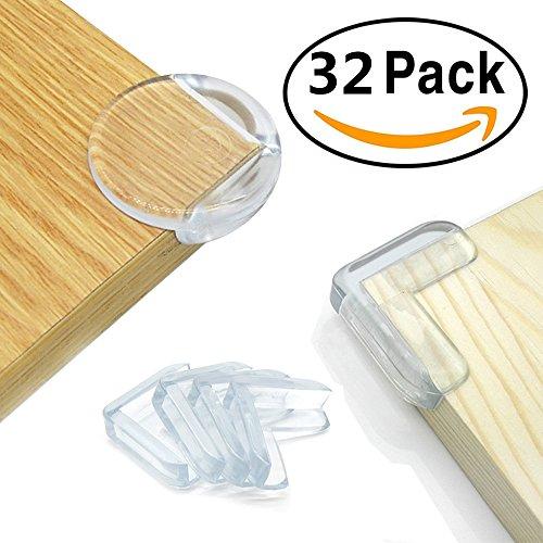 28 Pack Baby Proofing Corner Guards Furniture Corner Edge