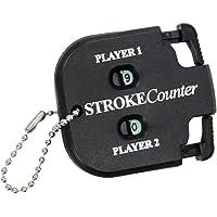 MagiDeal Hoogwaardige Plastic Golfscoreteller Voor 2 Spelers, Slagteller, Scoreteller Sleutelhanger