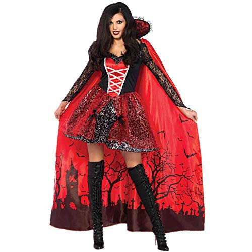 Twnhmj Womens Blood Thirsty Beauty Vampiress Costume