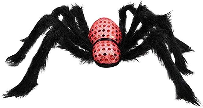 Spider Web /& 3 Araña casa de muñecas en miniatura de Halloween