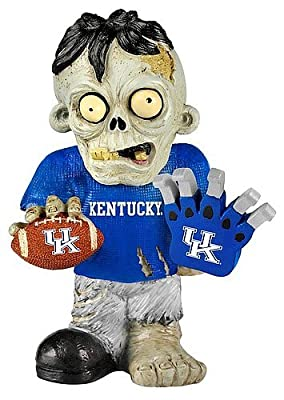 Kentucky Wildcats Zombie Figurine - Thematic w/Football - Licensed NHL Hockey Gift