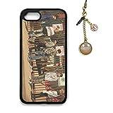Fanstown KPOP GOT7 7 For 7 iPhone 7/8 case + Dust plug charm (E02)
