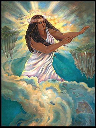 (Hawaiian Legend Keaomelemele Art Print 11