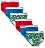 Fruit of the Loom Toddler Boys' 6 Pack Training Pant, Assorted, 2T/3T