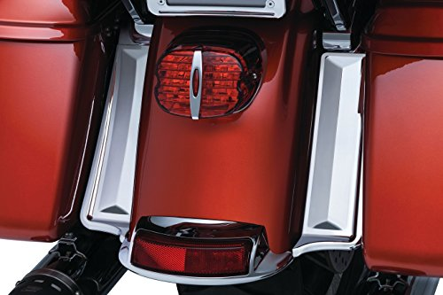 Kuryakyn Chrome Saddlebag Filler Panels Lower Covers for Harley 2014-2016 FLHTCU/L, FLHTK/U, FLHTKSE, FLTRU, FLTRUSE and FLHR ()