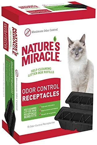 Natures Miracle P 98232 Receptacles Litter