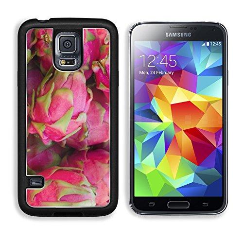 MSD Premium Samsung Galaxy S5 Aluminum Backplate Bumper Snap Case Santa Monica Farmers market Dragon Fruit Image 6235276539 (Santa Monica Juice compare prices)