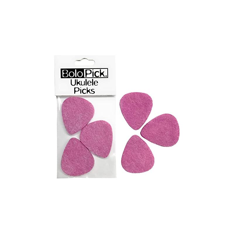 BoloPick Felt Picks for Ukulele 6 Pack (