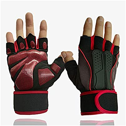 YICUERJIU mitt male green gloves bicycle gloves fitted half finger gloves arm training wristband protective palm sports breathable Estimated Price £26.00 -