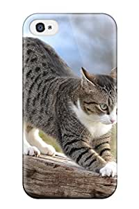 Hot Design Premium SzSwVwD5795FkXoW Tpu Case Cover Iphone 4/4s Protection Case(this Is A Great Scratching Post !)