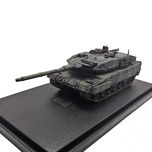 Diecast Military Tank Models 1:72 Scale Leopard 2 A6 Tank Zinc Alloy Static Model Die cast Manual Assembly Army Tank Model for Collection Gift(Pn: 12173PA) from Panzerkampf