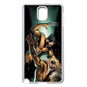 Wolverine Comic Samsung Galaxy Note 3 Cell Phone Case White Delicate gift AVS_652807