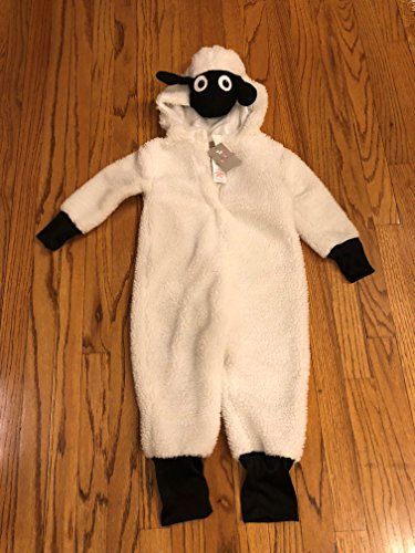Shaun The Sheep Kid Child Size 3-4 Years Halloween Dress up Costume Onies Rare Hard to (Shaun The Sheep Costume Kid)