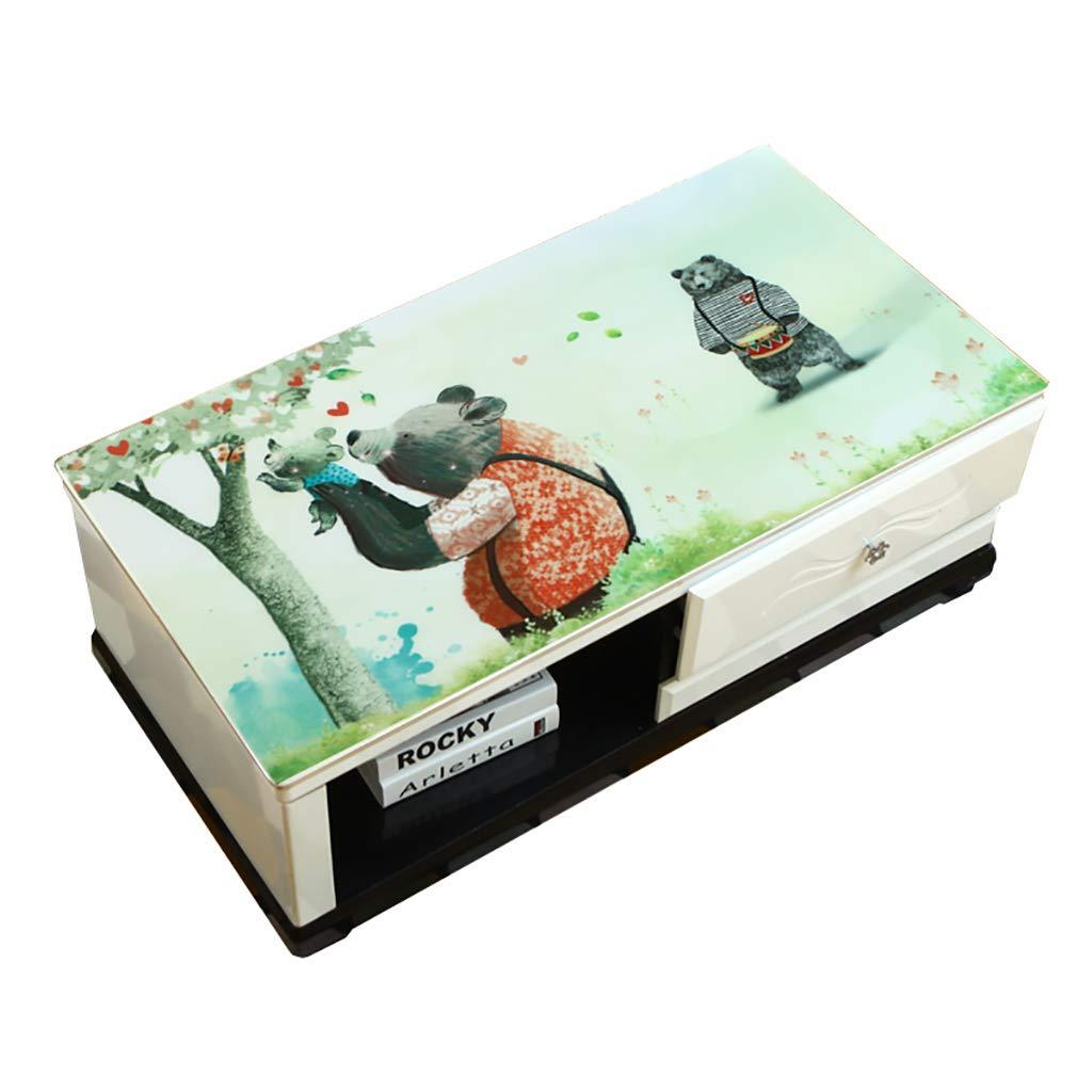 Hongsebuyi Tischdecke PVC Transparent Weichplastik Tischdecke Antifouling Anti-Verbrühung Tee Tischdecke Kaffee Tischdecke Dicke 1,5 MM (größe   80×80CM) B07MNZVFMK Tischdecken Spielzeugwelt, fröhlicher Ozean     | Neue Produkte im J