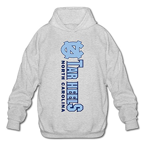 - AK79 Men's Sweatshirt North NC Logo Carolina Tar Heels Size L Ash