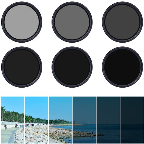 XCSOURCE 77mm Fader Variable ND Filter Neutral Density - 1