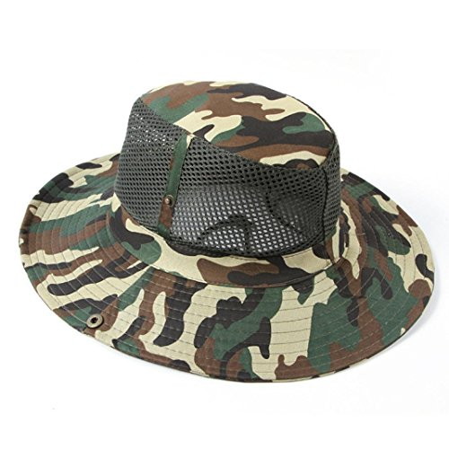 Aniywn Clearance Price! Summer Cool Men Bucket Hunting Fishing Outdoor Cap Brim Military Army Camouflage Caps (Free Size, - Cap Navy Pet