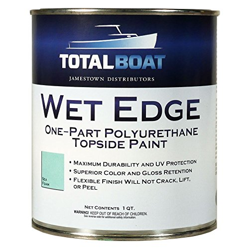 TotalBoat Wet Edge Topside Paint (Sea Foam, Quart)