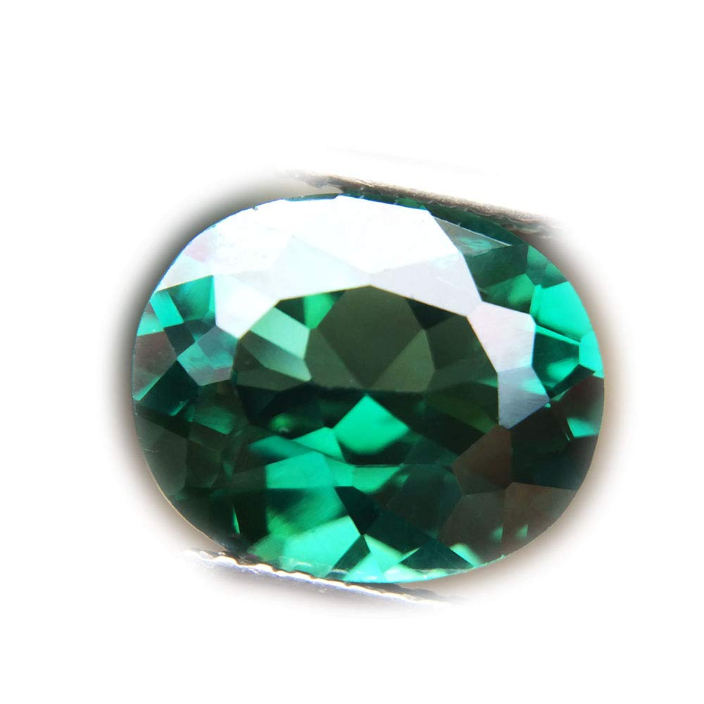 Lovemom 4.32ct Natural Oval Coating Green Topaz Brazil #PU