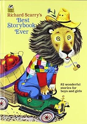 Richard Scarrys Best Storybook Ever Giant Little Golden Book by Golden Books