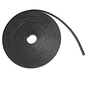 WINGONEER 5 Meter 6mm Width GT2 Timing Belt for Reprap Delta 3D Printer Kossel Rostock from WINGONEER®