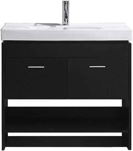 Virtu USA MS-555-C-ES-NM Gloria Bathroom Vanity