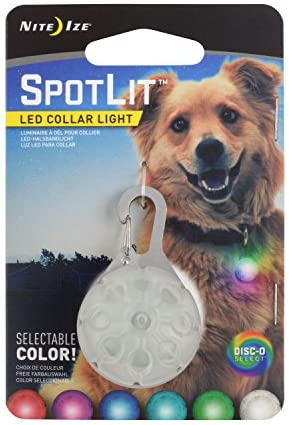 Nite Ize SpotLit Collar Color Changing