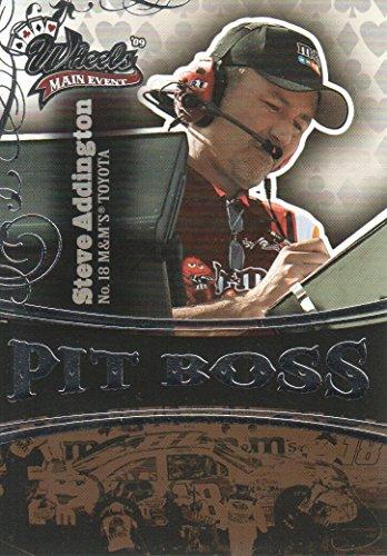 (2009 Wheels Main Event NASCAR Racing #51 Steve Addington RC/Kyle Busch Pit Boss )