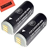 elph 520 hs - BM Premium 2-Pack NB-9L Battery For Canon PowerShot N, N2, Elph 510, Elph 520, Elph 530 HS, SD4500 IS Digital Camera