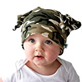 coolest shower head ever Yonger Baby Camouflage Hats Headkerchief Cool Cotton Elf Cap for Boys and Girls