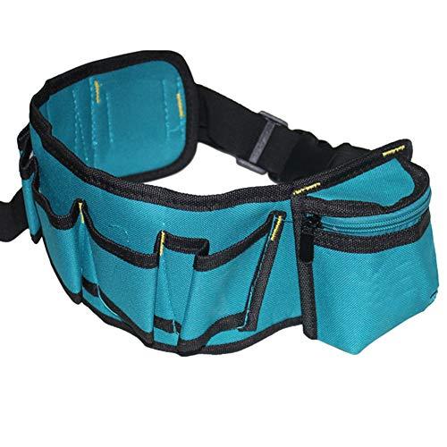 Multifunctional Tool Waist Bag Oxford Waterproof Pockets for Electrician Repairing