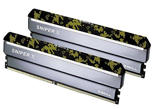 Series Sniper (G.SKILL 32GB (2 x 16GB) Sniper X Series DDR4 PC4-25600 3200 MHz 288-Pin Intel X299/Z370/Z270/Z170 Desktop Memory Model F4-3200C16D-32GSXKB)
