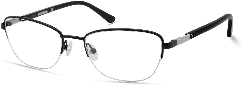 Eyeglasses Harley-Davidson HD 0550 002 matte black