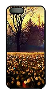 Case For Iphone 4/4S Cover landscapes nature tree 63 PC Custom Case For Iphone 4/4S Cover Cover Black