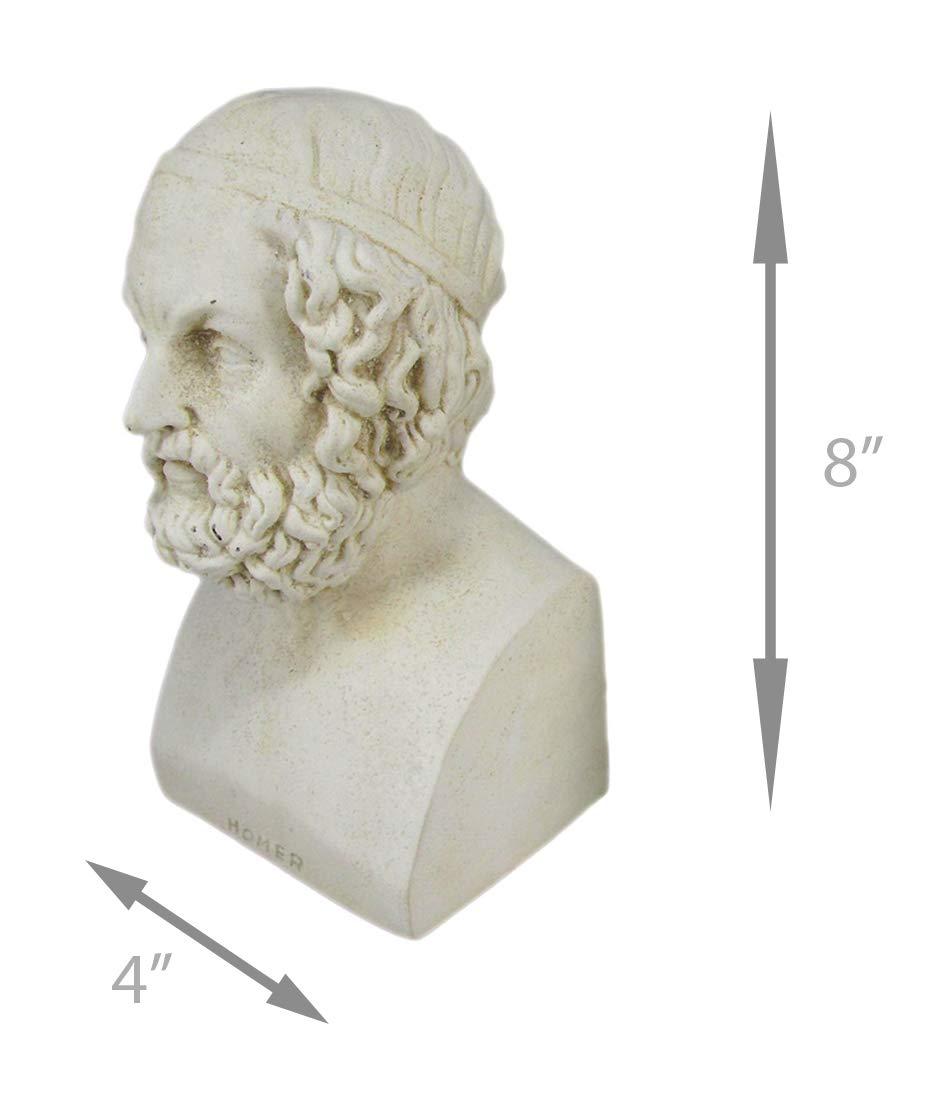 Aristoteles Statue Griechische Philosophen goldfarben Replikate