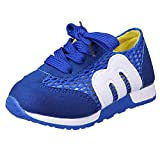 PENGYGY shoes Children Kids Boys Girls Mesh Sneaker Light Weight Letter Print Sports Shoes for Running Outdoor