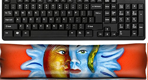 - Liili Keyboard Wrist Rest Pad Office Decor Wrist Supporter Pillow Mexican decoration plates in a Mayan souvenir shop Photo 4537492