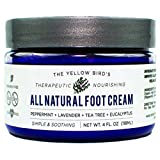 Athletes Foot Soak All Natural Antifungal Foot Cream. Moisturizing Organic Relief for Dry Cracked Heels, Callused Feet, Athletes Foot. Best Therapeutic Grade Essential Oils: Peppermint, Lavender, Eucalyptus, Tea Tree.