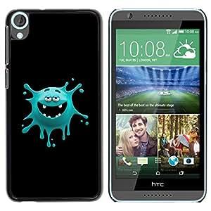 "For HTC Desire 820 , S-type Cara divertida del monstruo"" - Arte & diseño plástico duro Fundas Cover Cubre Hard Case Cover"