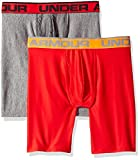 Under Armour Men's Original Series 9'' Boxerjock 2-Pack, Red, Large