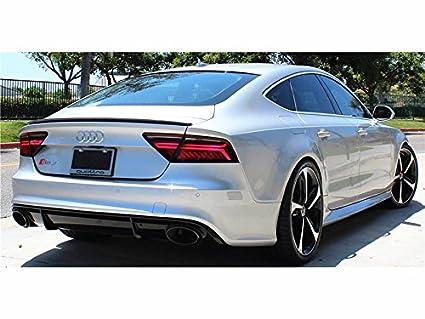 Amazon Com For Audi A7 S7 Rs7 Wal D Style Carbon Fiber Trunk Lid