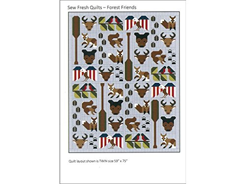Sew Fresh Quilts Forest Friends USA Ptrn Pattern