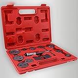 12-Piece Universal Disc Brake Caliper Wind Back Tool Kit, Piston Pad Caliper Compressor Wind Back Repair Tool Kit for Cars [US STOCK]