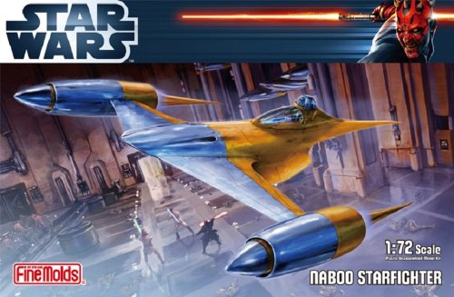 Fine Molds Star Wars (Naboo Star Fighter (1/72 Plastic model) Fine Molds Star Wars [JAPAN])