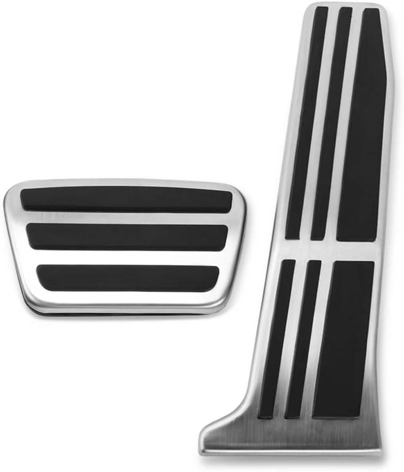 f/ür Toyota RAV4 Camry Avalon 2018 2019 WHKOBM Auto Pedal f/ür Lexus ES GS 2018 Auto Gaspedal Bremspedal Fu/ßst/ütze Pedal Pads Abdeckung rutschfeste