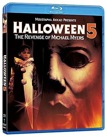 Amazon.com: Halloween 5: The Revenge of Michael Myers [Blu-ray ...